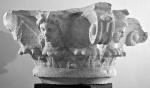 Capitello marmoreo figurato Museo di Cori