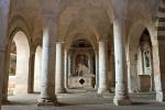 la Basilica Medievale nel comprensorio del museo di Cori
